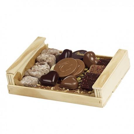 Cagette assortiment chocolat Guinguet 240g