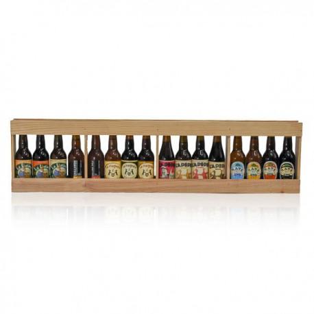 Mètre de bières artisanales du Sud-Ouest 16 x 33 cl