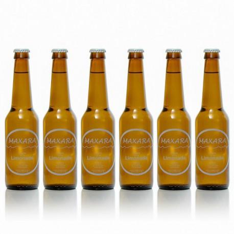 Lot de 6 limonades artisanales Maxara 6 x 33cl