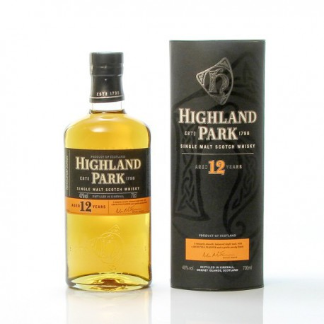 Whisky Highland Park 12ans Single 40° 70cl