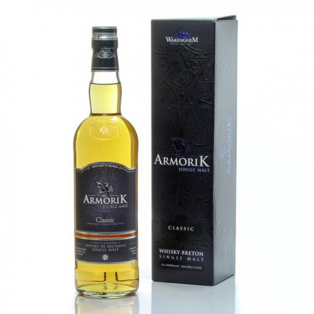 Whisky Breton Armorik Classic single malt 46° 70cl