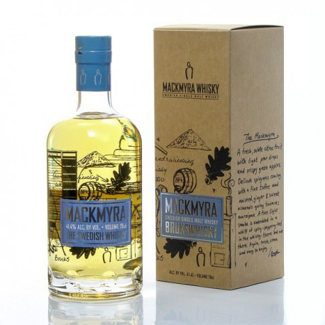 Whisky Suédois Mackmyra Brucks Single 41° 70cl