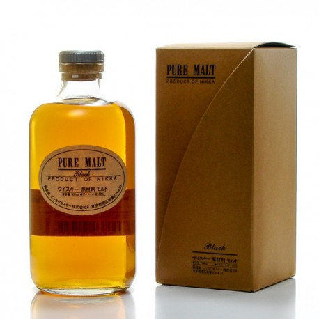Whisky japonais Nikka Pure Malt Black 43° 50cl