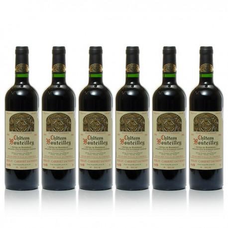 Carton 6 bouteilles de Château Bouteilley 2015 AOC Bordeaux 75cl
