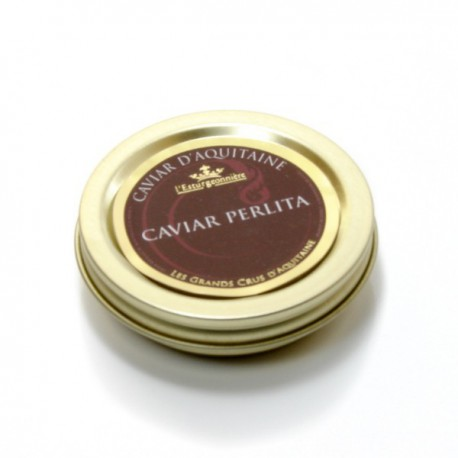 Caviar d'Aquitaine Perlita de l'Esturgeonniere 20g