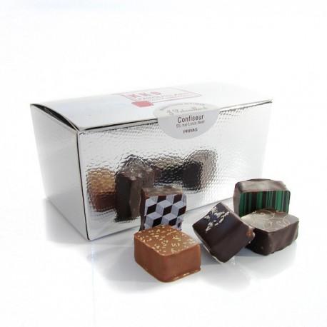 Ballotin de chocolats fins assortis 250g