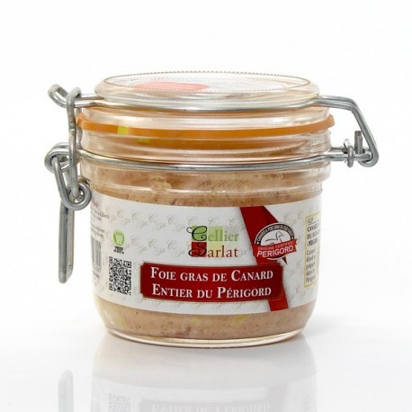 Foie Gras de Canard Entier Mi-Cuit du Perigord 180g