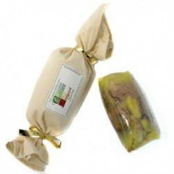 Foie Gras de Canard Entier du Perigord Mi-Cuit au Torchon 500g