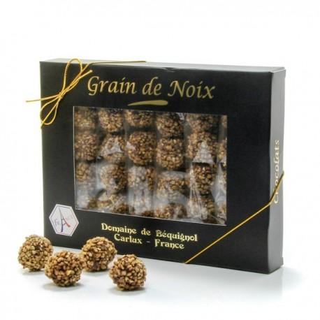 Boite Noire Grain de Noix (Noix, Caramel, Chocolat et Sarrasin) 125G