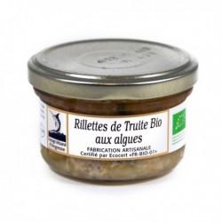 Rillettes de Truite Des Pyrenees Bio 90g