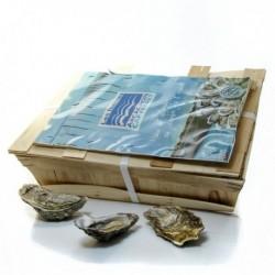 Bourriche de 4 Douzaines D'Huitres Arcachon - Cap Ferret Calibre 4