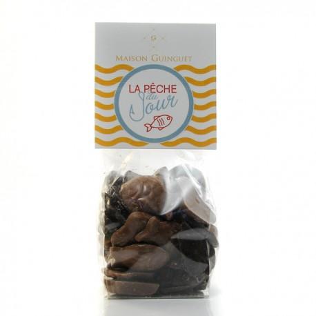 Assortiment de Fritures et Oeufs Chocolat Noir et Lait Maison Guinguet 120g