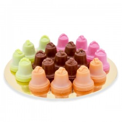 Cloches Praline Couleurs Assorties 200g