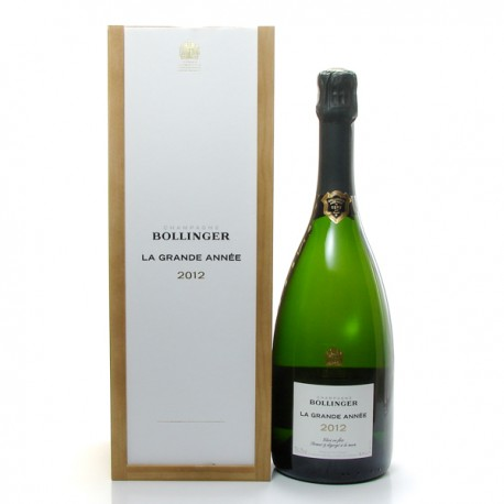 Champagne Bollinger Grande Annee 2012 Aoc Champagne Brut 75cl