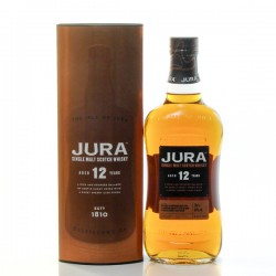 Whisky Ecosse Jura 12 Ans Single Malt Scotch 46° 70cl