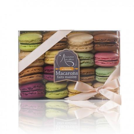 Coffret de 16 macarons artisanaux Lucy Borie 330g