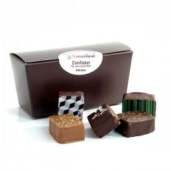 Ballotin de chocolats fins assortis 200g