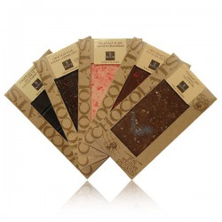 Lot de 5 tablettes de chocolat Bovetti 5x100g
