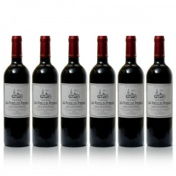 Carton 6 bouteilles de Château les Vieilles Pierres 2010 AOC Lussac-St emilion 75cl
