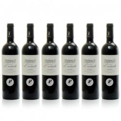 Carton 6 bouteilles de Château La Coustarelle AOC Cahors Rouge 2012 75cl