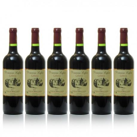 Carton 6 bouteilles de Domaine Lafon AOC Cahors 2014 75cl