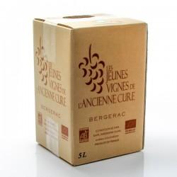 Jeunes vignes de l'ancienne cure AOC Bergerac rosé 2015 bib 5l