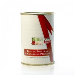 Bloc de foie gras de canard avec morceaux 400g