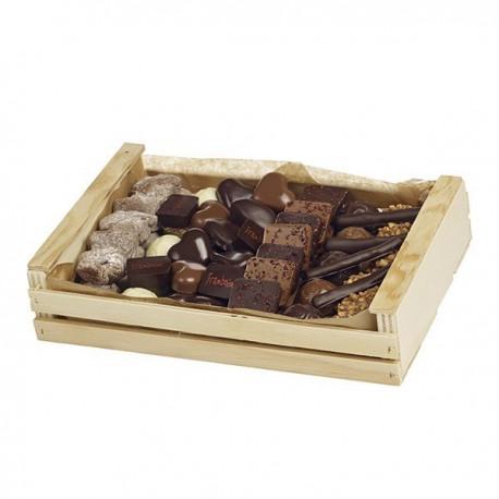 Cagette assortiment chocolat Guinguet 720g