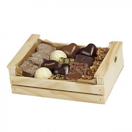 Cagette assortiment chocolat Guinguet 400g