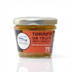 Terrine de Truite au Piment d'Espelette 75g