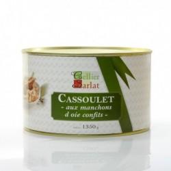 Cassoulet aux Manchons d'Oie Confits 1350g