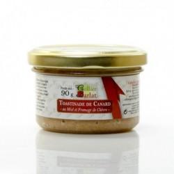 Toastinade de Canard au Miel et Fromage de Chevre 90g