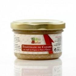Toastinade de Canard au Confit de Figues et Pain d'Epices 90g