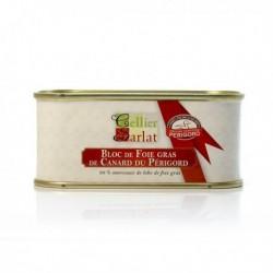 Bloc de Foie Gras de Canard du Périgord avec Morceaux 130g