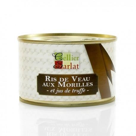 Ris de Veau aux Morilles et Jus de Truffe 400g