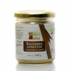 Saucisses Confites à La Graisse de Canard 240g