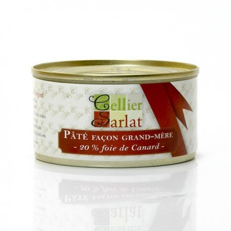 Paté Facon Grand Mere 20% Foie de Canard 130g