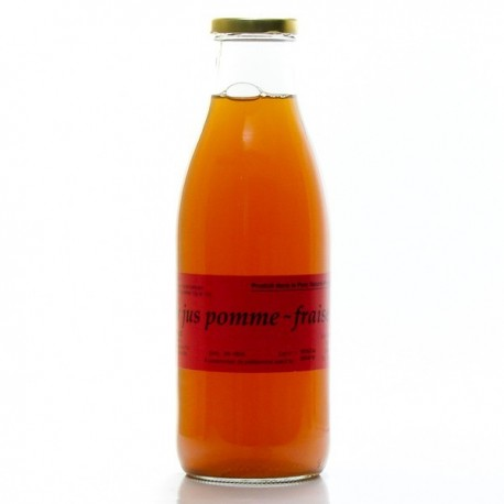 Jus de Pomme Fraise de Dordogne 1L