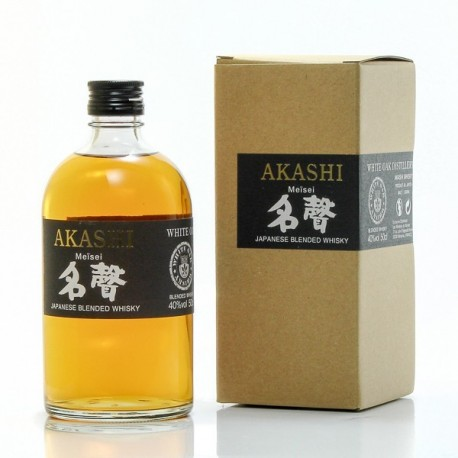 Whisky Japonais Akashi Meisei White Oak Blended 40° 50cl