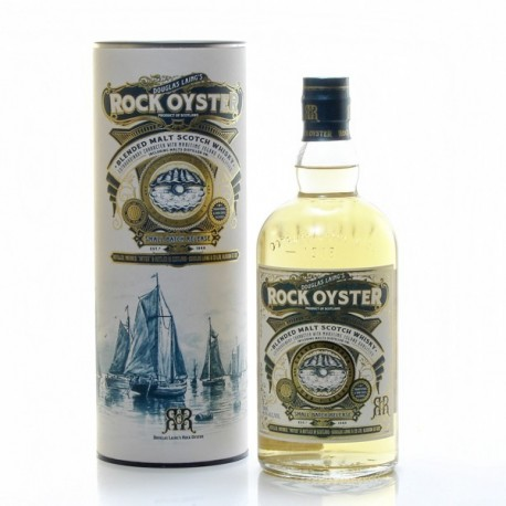 Whisky Ecosse Rock Oyster Blended Scotch 46.8° 70cl