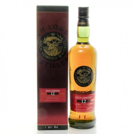Whisky Ecosse Loch Lomond 12 Ans et son Etui Single Malt Scotch 46° 70cl