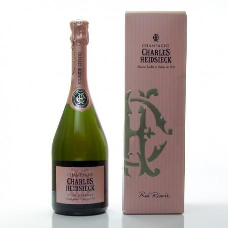 Champagne Charles Heidsieck Reserve AOC Champagne Rosé 75cl