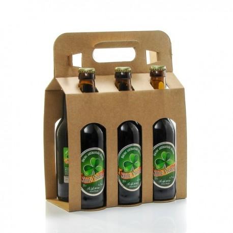 Pack de 6 Bières Saint Patrick Artisanale du Quercy Brasserie Ratz 6 X 33 Cl
