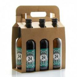 Pack de 6 Bières Brassée 24 Indian Pale Ale Brasserie Artisanale de Sarlat 33cl