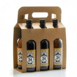 Pack de 6 Bières Brassée 24 l'Adorée Brasserie Artisanale de Sarlat 33cl