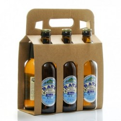 Pack de 6 Bières Blanches Artisanales du Quercy Brasserie Ratz 33cl soit 198cl