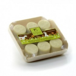 Cabecous Praline Chocolat Blanc 95g