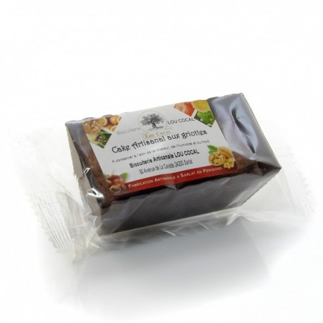 Cake Artisanal aux Griottes 80g