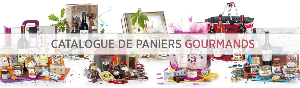 Catalogue de paniers gourmands